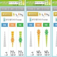 年間実績 & 717・147・1014 Finish!(2017.06.25)