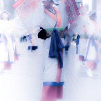 雁微笑連 (静岡県 富士市)