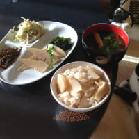 筍ご飯と若竹煮