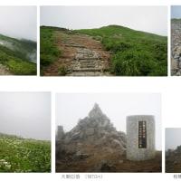 草花を撮る。北から南へ7 -大朝日岳-