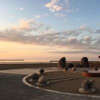 2017 日本海に沈む夕日