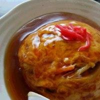 甘酢あんが美味しい♪なつかしい味・天津飯