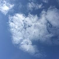 今日の空です。