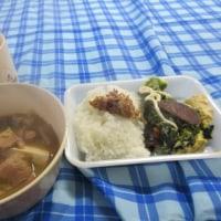 『いのししまつり in 大三島』というジビエ食べ合宿⑦二日目朝。朝ごはんもイノシシ尽くし