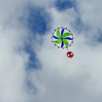 凧の文化 暑い一日の凧揚げ 秋の気配