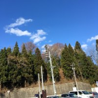 12/3(土)  晴天‼️
