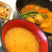 カレーソースのとろとろ角煮定食を頂きました。 at 手しおごはん 玄 中野坂上店