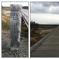 一休寺の紅葉 流れ橋