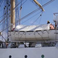 海王丸が清水港に寄港していました。