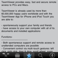 iPhoneアプリ TeamViewer