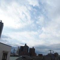 今朝(2月27日)の東京のお天気:曇り、(2月の作品:祈りの像)