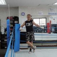 ボクシングを着た! weared RSC which is famous Japanese boxing maker