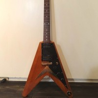 ★free shipping★SPRING GUITER FAIR ★Brian by Bacchus FLYING-V/KORINA TYPE
