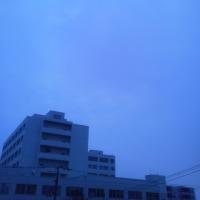2017/3/30   午前6時前札幌の空模様   今日は雨
