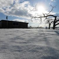 春の陽気・・・雪解け進む