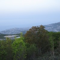 毛無山展望台〔小樽市〕から