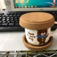 コルクのカップコースター