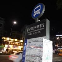韓国旅行 2日目 응봉산 下山