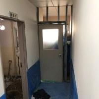 倉敷市内の幼稚園さんのトイレ改修現場