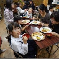 ▲10月11日の「みんなの昼ごはん食堂」、「みんなの晩ごはん食堂」
