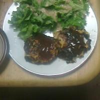 昨日は「手作りハンバーグを食べました!!