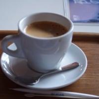 博物館でコーヒーブレイク
