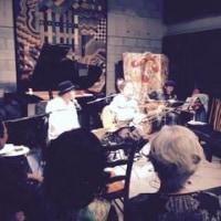ナーダムでブルージィーパパのライブがありました