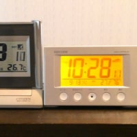 電波時計2台のずれ