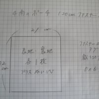 20センチファスナー対応の四角形ポーチの作り方
