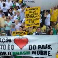 ブラジル  汚職一掃の「洗車作戦」で閣僚8人、現職国会議員63人を含む98人が捜査対象