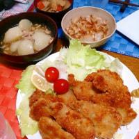 1/17 豚肉卵とじとカジキのお弁当