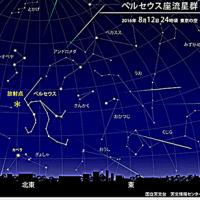 流れ星・・・今週はペルセウス座流星群