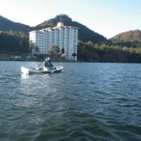 榛名湖釣行!!良く釣れます!!