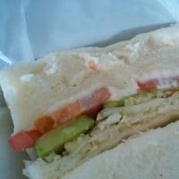 コンパルの野菜サンド