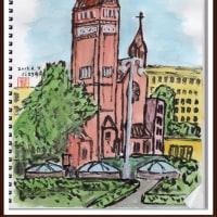 ベラルーシ・ウクライナ・モルドバ旅行シリーズ (1)聖シモン聖エレーナ教会
