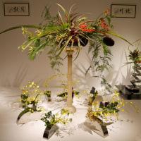小原流展「白い秋」・・・・鈴木 春芳さんの作品