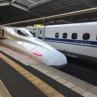 JR新幹線・京都発「ひかり475号」新神戸着