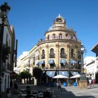 今日の写真【スペイン、ヘレス・デ・ラ・フロンテーラ お祭りの日の街の写真】