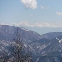 3月11日やぶはらゲレンデスキー。ゲレンデトップからの絶景