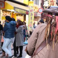ジョニー・デップもどき@横浜中華街