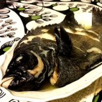 長崎のイシガキ鯛を蒸す。
