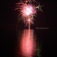 霞ヶ浦湖上花火撮ってきた