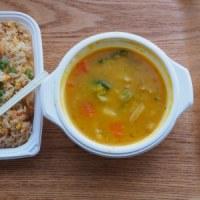 炒飯&野菜スープ