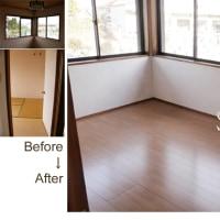 2階の和室をリフォーム。自分の部屋を作る。