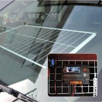 簡易太陽光蓄電システム(コントローラー交換)