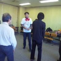 田中さんは笑いヨガの第一人者