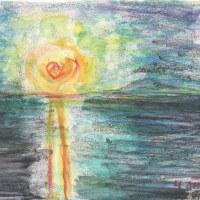 朝日記170112 習作自画像『酒神礼賛と私の夏の午後』と今日の絵