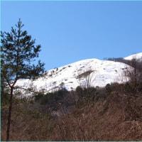 蟹を食べて、雪山を眺めて。