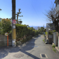 大阪府東大阪市上六万寺町と上四条町の間の風景