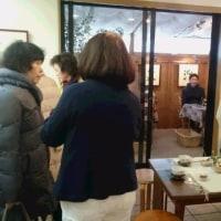 美枝子さん、拓さんの作品展、終盤です